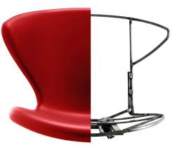 Tonon Concept stoel met walnoten onderstel