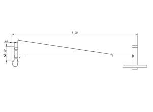 Tonone Beads wandlamp LED 120