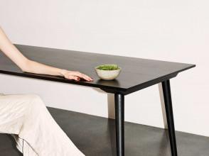 &tradition In Between SK6 tafel 250x100 zwart eiken