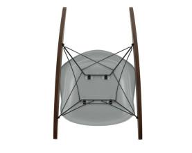 Vitra Eames RAR schommelstoel goud onderstel