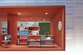 Vitra Eames Storage Unit 4 HE boekenkast
