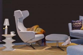 Vitra Grand Repos loungestoel