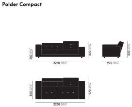 Vitra Polder Compact bank