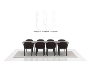 Vitra Softshell stoel met chocolade onderstel
