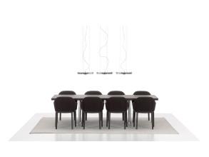 Vitra Softshell stoel met zwart onderstel