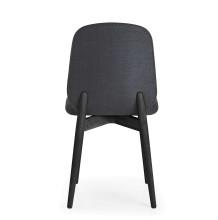 PBJ Designhouse Tradition stoel zwart eiken onderstel