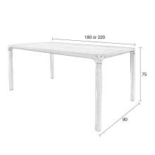 Zuiver Storm tafel 180x90