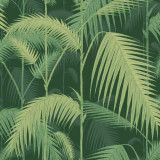 Cole & Son Palm Jungle behang Forest Green