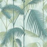 Cole & Son Palm Jungle behang Seafoam