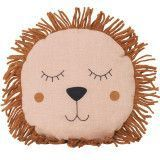 Ferm Living Safari lion kussen rose