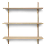 Ferm Living Sector Shelf wandplank triple wide
