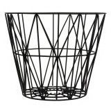 Ferm Living Wire Basket opbergmand zwart medium