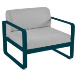 Fermob Bellevie fauteuil kussen flannelgrijs