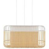 Forestier Bamboo Oval XL hanglamp
