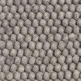 Hay Peas vloerkleed 200 x 300 medium grey