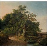KEK Amsterdam Golden Age Landscapes IV behang