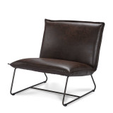 Livingstone Design Chobe 1,5-zits fauteuil Rawhide Brown