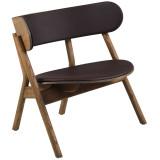 Northern Oaki loungestoel met zit- en rugkussen
