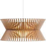 Secto Design Kontro 6000 hanglamp walnoten fineer