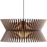 Secto Design Kontro 6000 hanglamp zwart gelamineerd