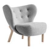 &tradition Little Petra fauteuil eiken onderstel