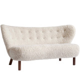 &tradition Little Petra Sofa VB2 walnoot