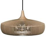 Umage Clava Dine Wood hanglamp met zwart snoer