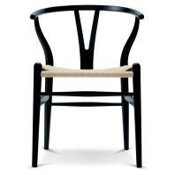 Carl Hansen & Son Tweedekansje - CH24 Wishbone stoel Colours Natural Black