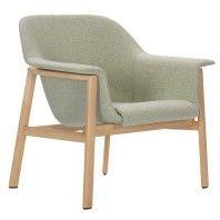 ClassiCon Sedan Oak fauteuil met Divina MD 45 stoffering