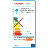 Artemide Tweedekansje - Pirce plafondlamp Halo wit