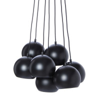 Frandsen Tweedekansje - Ball Multi hanglamp mat zwart
