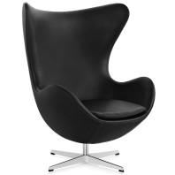 Fritz Hansen Egg Chair fauteuil leer