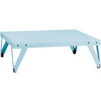 Functionals Tweedekansje - Lloyd Low salontafel lichtblauw 110x110