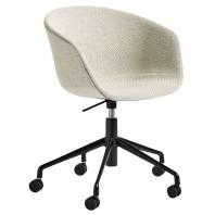 Hay Tweedekansje - About a Chair AAC53 bureaustoel, onderstel zwart, Coda 100
