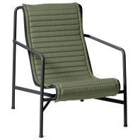 Hay Palissade High fauteuil Quilted zitkussen