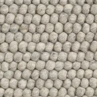 Hay Outlet - Peas vloerkleed 140 x 200 soft grey