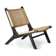 HKliving Webbing Lounge fauteuil