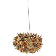 Kartell Tweedekansje - Bloom metallic hanglamp S2 goud/brons/koper