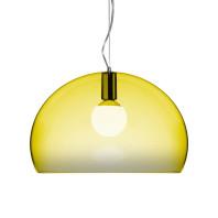 Kartell Tweedekansje - FL/Y hanglamp geel