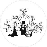 KEK Amsterdam Nijntje Circus behangcirkel