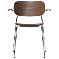 Menu Co Chair stoel chroom met armleuning