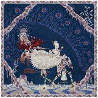 Moooi Carpets Polar Byzantine Chapter 2 vloerkleed 200x200