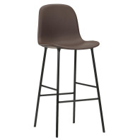 Normann Copenhagen Form Bar Chair gestoffeerde barkruk 75cm