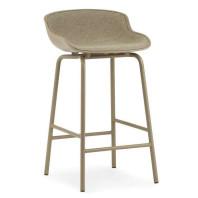 Normann Copenhagen Hyg barkruk 65 cm front upholstery