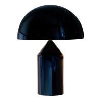 Oluce Tweedekansje - Atollo 50 Metal tafellamp zwart