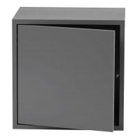 Muuto Tweedekansje - Stacked 2.0 kast medium met deur grijs