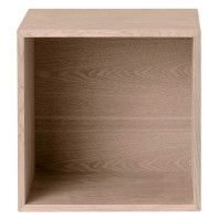 Muuto Outlet - Stacked 2.0 kast met backboard medium eiken