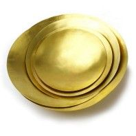 Tom Dixon Form Bowl schaal set goud