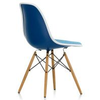 Vitra Eames DSW gestoffeerde stoel
