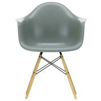 Vitra Eames DAW Fiberglass stoel goud esdoorn